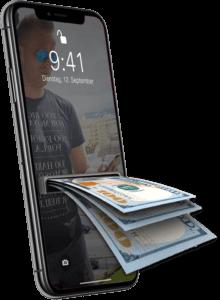 Smartphone löst Geldsorgen
