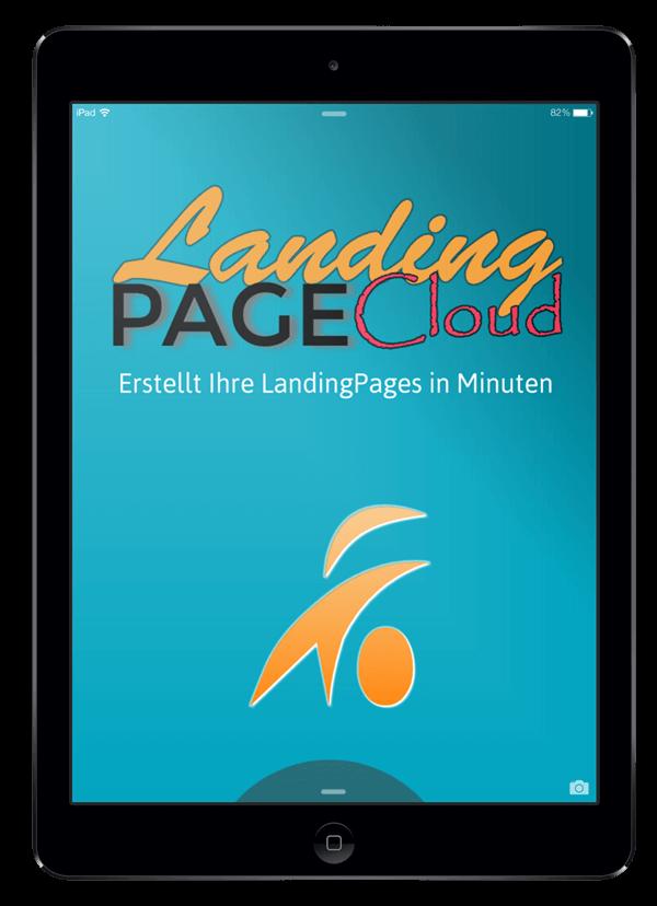 Landing Page Cloud