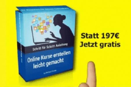 Online Kurse einfach selbst erstellen